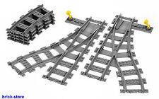 LEGO® City/Eisenbahn Set (7895) Weichenpaar / (7897/7898/7938/7939/3677/10219)