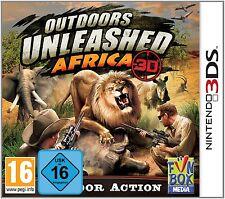 Nintendo 3DS Spiel Outdoors Unleashed Africa Afrika 3D NEU&OVP