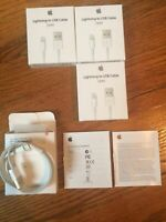 3 Pack Original OEM Apple Lightning Cable USB Charger for iPhone 6 7 8 X Plus 1M
