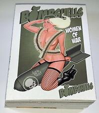 "2013 Bad Axe Studios ""Bombshells - Women of War"" 50 Card Base Set + Models NSFW"