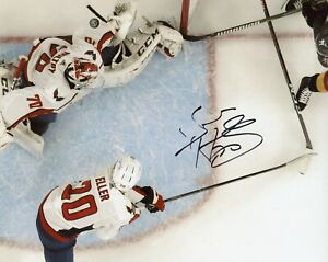 """~~ BRADEN HOLTBY Authentic Hand-Signed """"WASHINGTON CAPITALS"""" 8x10 Photo ~~"""