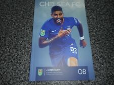 CHELSEA  v  DERBY COUNTY 2018/19 CARABAO CUP 4th ~ OCT 31 **BEST PRICE ON EBAY**
