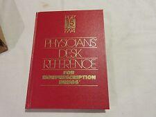 Physicians Desk Reference ,  15th Edition , 1994, For Non Prescription Drugs