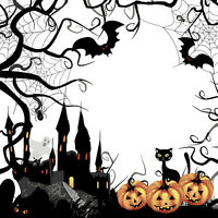 20 Servietten  Serviettentechnik Spooky Halloween  P+D 33x33