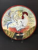 Certified International Susan Winget Le Rooster Plates Set Of 3