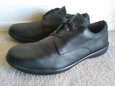 Camper shoes Sz 43 black derby round toe casual comfort walking