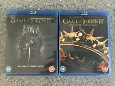 Game of Thrones Season Series 1 & 2 / One & Two / First & Second Blu-ray NEW