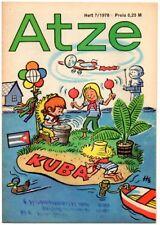 DDR ATZE Heft 7/1978 FDJ Verlag Junge Welt Fix und Fax *AZ76