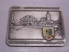 Emailplakette MSC Ketsch 1952 e.V. DMV Ostersternfahrt : 2.Nat. Sternfahrt 1981