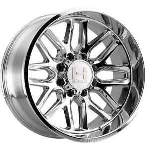 "Hostile H120 Vulcan 20x12 8x170 -44mm Chrome Wheel Rim 20"" Inch"