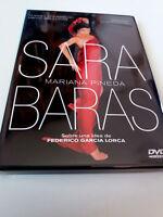 "DVD ""SARA BARAS MARIANA PINEDA"" COMO NUEVO FEDERICO GARCIA LORCA LUIS PASCUAL MA"