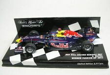 Red Bull Renault rb7 n. 1 pag. ciabatta WINNER Turkish GP 2011