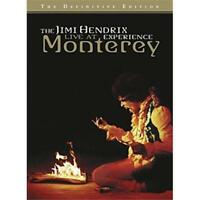THE JIMI HENDRIX EXPERIENCE Live At Monterey DVD NEW NTSC ALL Definitive Edition
