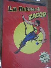 ZAGOR La Rubrica con Poster Anastatica  /SD/