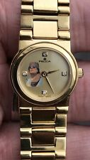Antique Style 18ct Gold Plated Ladys Felca Watch With General Gaddafi Of Libya