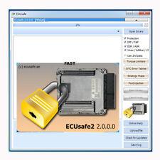 Ecusafe V2.0.0 desactivar Fap Egr AdBlue DPF limitador de velocidad de EGR OFF