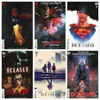 DCEASED #1-6 Full Run Complete Series Variants Yasmin Putri DC Comics 2019