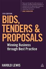 Bids, Tenders and Proposals: Winning Business Through Best Practice (Paperback o