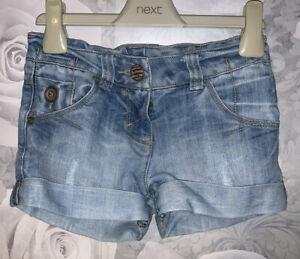 Girls Age 6 (5-6 Years) Next Denim Shorts