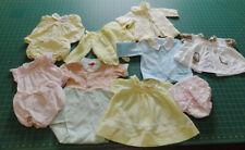 Lot vintage baby clothing, nice, cute!