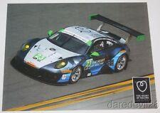 2016 Alex Job Racing #23 Porsche 911 GT3 R GTD Sebring IMSA WTSC postcard