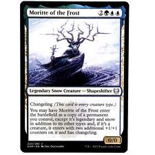Moritte of the Frost - M/NM Multi-color Legendary Snow Creature Uncommon MTG KHM