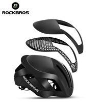 ROCKBROS Cycling MTB Road Bike Helmet EPS Reflective Bike 3 in 1 Safety Helmet