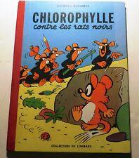 MACHEROT. Chlorophylle contre les rats noirs. LOMBARD 1956. EO. Superbe