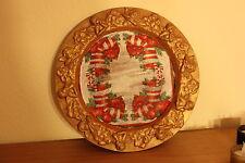 Dekoteller Weihnachtsteller Terracotta 32 cm Durchmesser