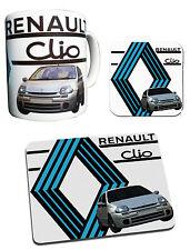 Renault Clio Collection - Mug, Coaster & Mouse Mat