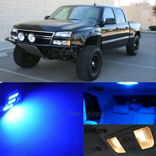 13Pcs Blue LED Lights Interior Lamp Package Kit For 1999-2006 Chevy Silverado MP