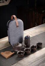 service a thé japonnais ensemble de voyage en céramique
