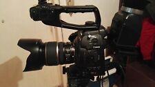 Videocamera Canon eos cinema C100 +obiettivo 17-55+viewfinder+monitor, perfetta