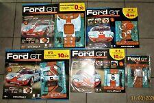 Altaya 1/8 Montez Votre Ford GT N° 01 - 05 neuf+ fascicules