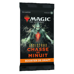 Magic The Gathering MTG Booster Boosters de draft Innistrad chasse de minuit FR