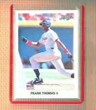 💥 FRANK THOMAS 💥 1990 LEAF ROOKIE CHICAGO WHITE SOX