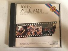 John Williams Bach Violin Concerto Handel Marcello CD CBS Masterworks 1984