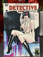 4x6 Print Of Original Sketch Cover Batman Detective Comics 1000 Signed