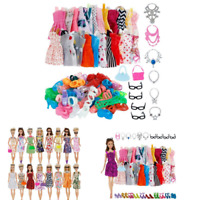 32pcs Doll Clothes Set Fashion32 Item Accessories for 11-12 Inch Girl Party Doll