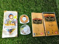 Sony Playstation PSP Game PUZZLE QUEST CHALLENGE OF THE WARLORDS + Sid Meiers