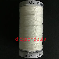 Gutermann Extra Strong Upholstery Thread 100m Reels 100% Polyester Choose Colour