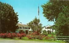 STAGE HARBOR MOTOR INN POST CARD 1960'S CHATHAM, CAPE COD, MA. DOWN MEMORY TRAIL