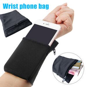 AU Sports Armband Running Bag Cycling Wristband Wrist Support Pocket Wrist Purse