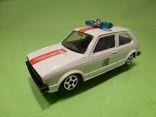 NOREV JET-CAR VOLKSWAGEN GOLF - POLICE SOS 911 - WHITE 1:43 RARE - GOOD