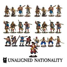 Firelock Games BNIB Blood and Plunder Unaligned Nationality Set FGD0044