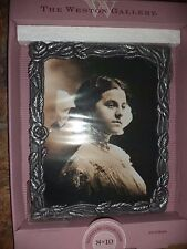 WESTON GALLERY silver tone victorian picture frame for 8 x 10 inch photo - NEW