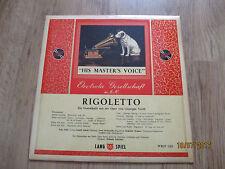 Vinyl10  Rigoletto Ein Querschnitt aus der Oper von Giuseppe Verdi German 1955