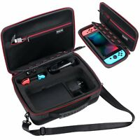 Smatree Carrying Case for Nintendo Switch-Extra Switch Pro Controller Case