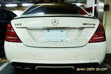 07-13 MERCEDES BENZ S-CLASS W221 SK TRUNK SPOILER FIT S63 S65 AMG