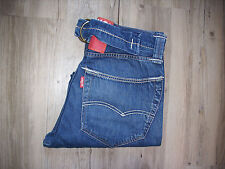 Rareza levis red 25003.0010 cinchback baggy jeans w31 l32 rara vez Rare